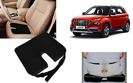 Outstanding Auto Pearl Car Seat Rest Cushion Black For Venue Amazon Caraccident5 Cool Chair Designs And Ideas Caraccident5Info