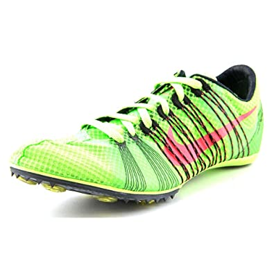 Nike Zoom Victory 2 Middle Distance Running Spikes - 4.5 - Green