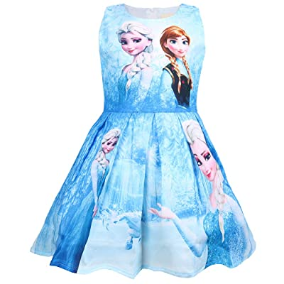 WNQY Princess Costume Party Dress Little Girls Cosplay Dress up: Clothing