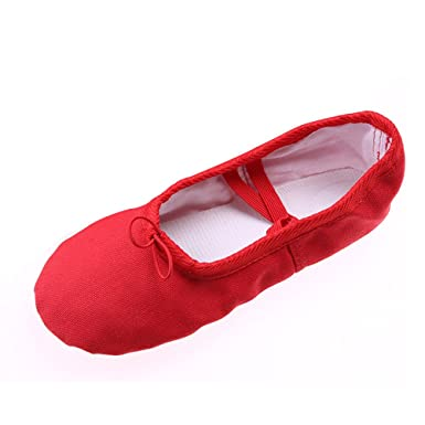 8187c49f9c807 BESTOYARD Chaussures de Ballet pour fille Chaussure de danse pour enfant   Amazon.fr  Vêtements et accessoires