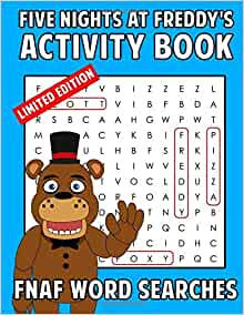 Five Nights At Freddy S Activity Book Fnaf Word Searches