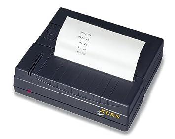 Impresora térmica para KERN-Balanzas con Interfaz de datos RS-232 [Kern YKB-01N]: Amazon.es: Oficina y papelería