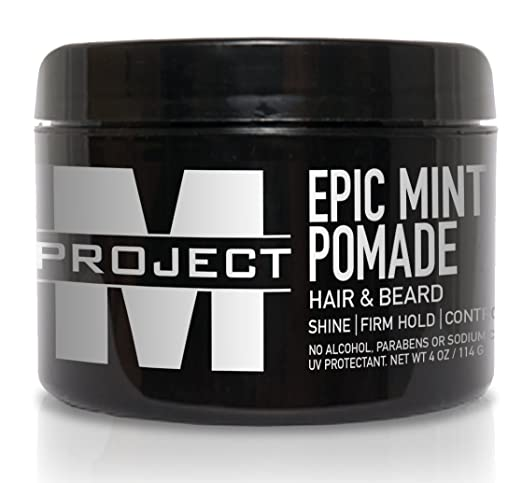 EPIC Mint Pomade for thick wavy hair