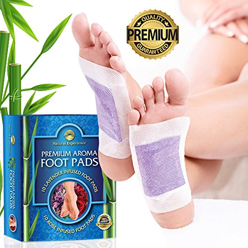 Patch Aroma Body (Foot Pads, 20 Premium Organic Aromatherapy Adhesive Pads, Improves Sleep, Removes Impurities,100% Natural, Highest Quality Foot Patches by Natural Experience™)