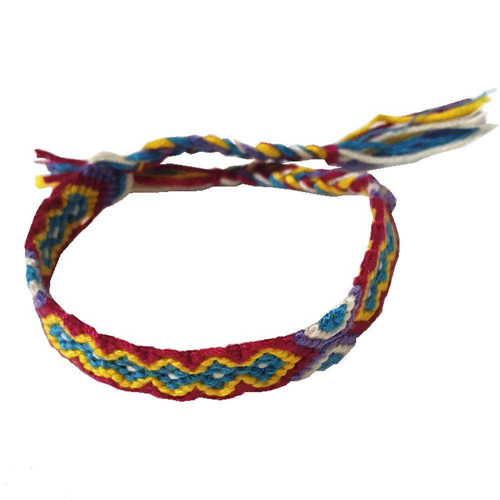Rimobul Nepal Woven Friendship Bracelets - 8 pack by Rimobul (Image #6)