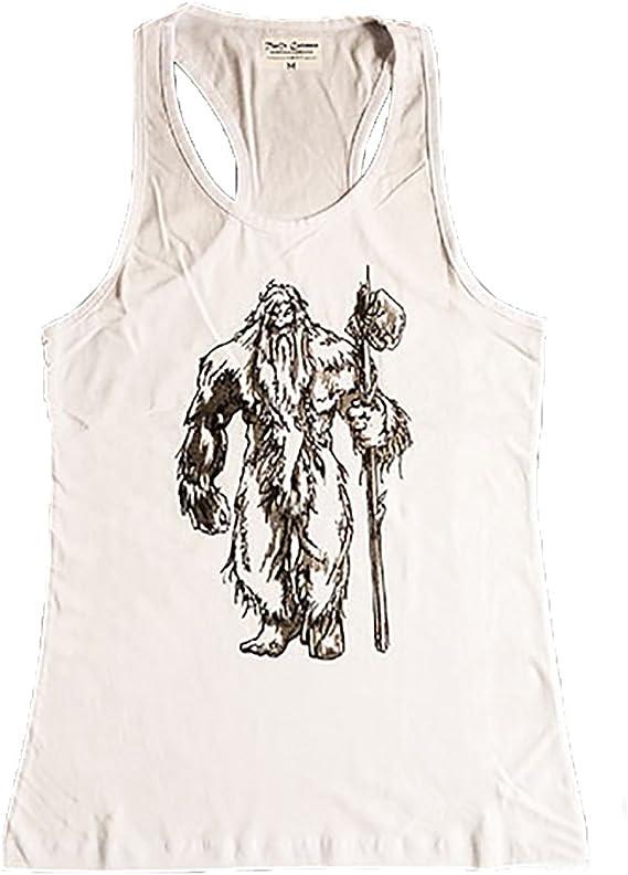 Camiseta Blanca Hombre Basajaun Señor de los bosques de la Cultura Vasca- Tallas M/L- Camiseta Tirantes 100% Algodón: Amazon.es: Ropa y accesorios