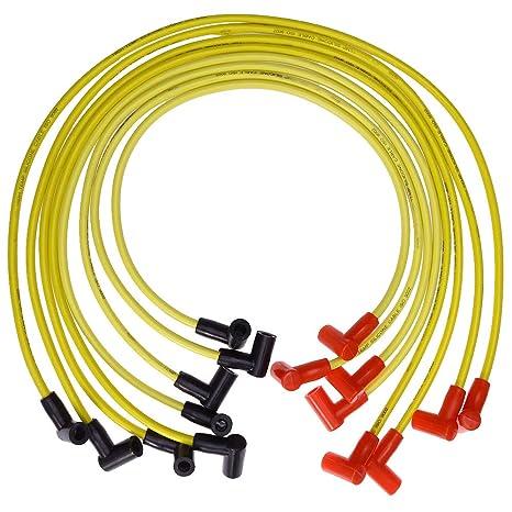 Amazon.com: SBC 262-400 Chevy 8.8MM HEI Spark Plug Wire Set ... on