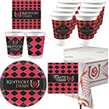 Westrick Kentucky Derby Icon Party Supplies 101 Pieces (Serves 24)