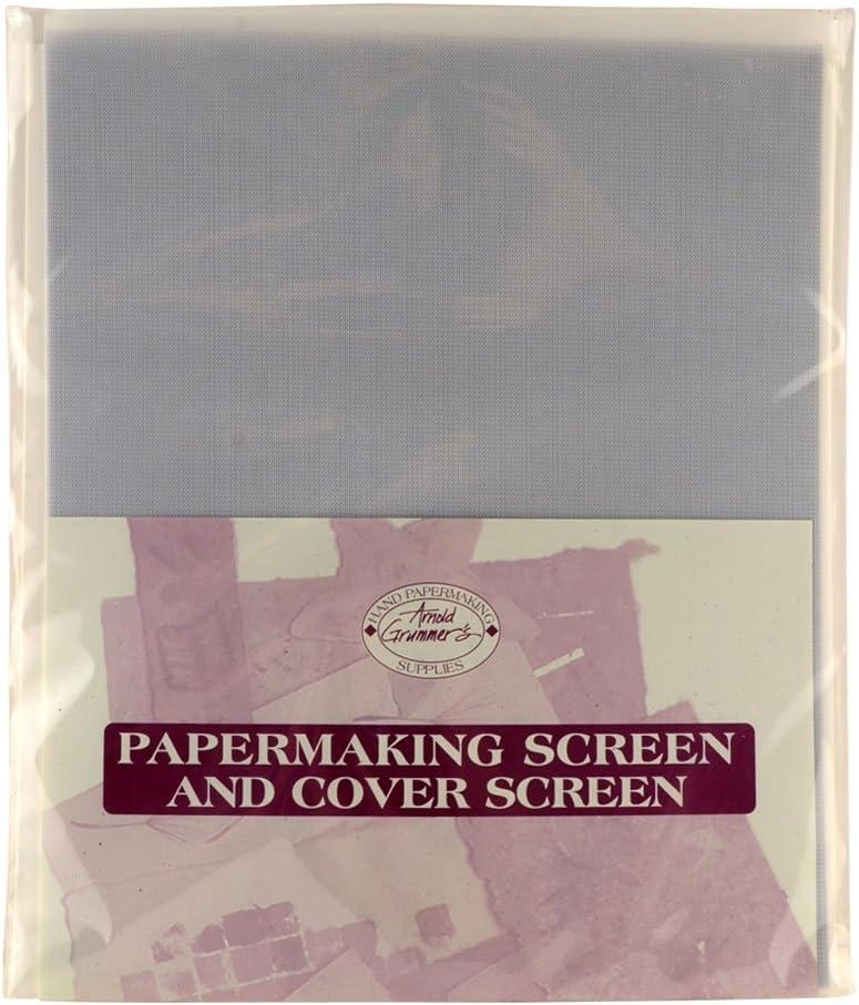 A. Grummer Lrg Papermill Screen/Cover Screen, White