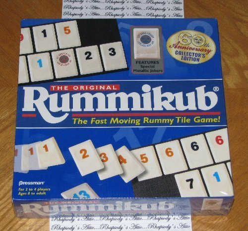 The Original Rummikub 60th Anniversary Collector's (60th Anniversary Collectors)