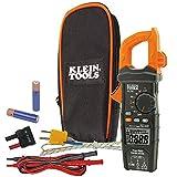 Digital Clamp Meter AC/DC Auto-Ranging 600 Amp, LoZ, Measures Voltage, Resistance, More Klein Tools CL700