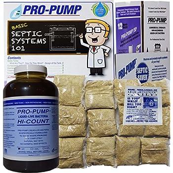 Amazon Com Pro Pump Septic Tank Treatment 1 Year Supply