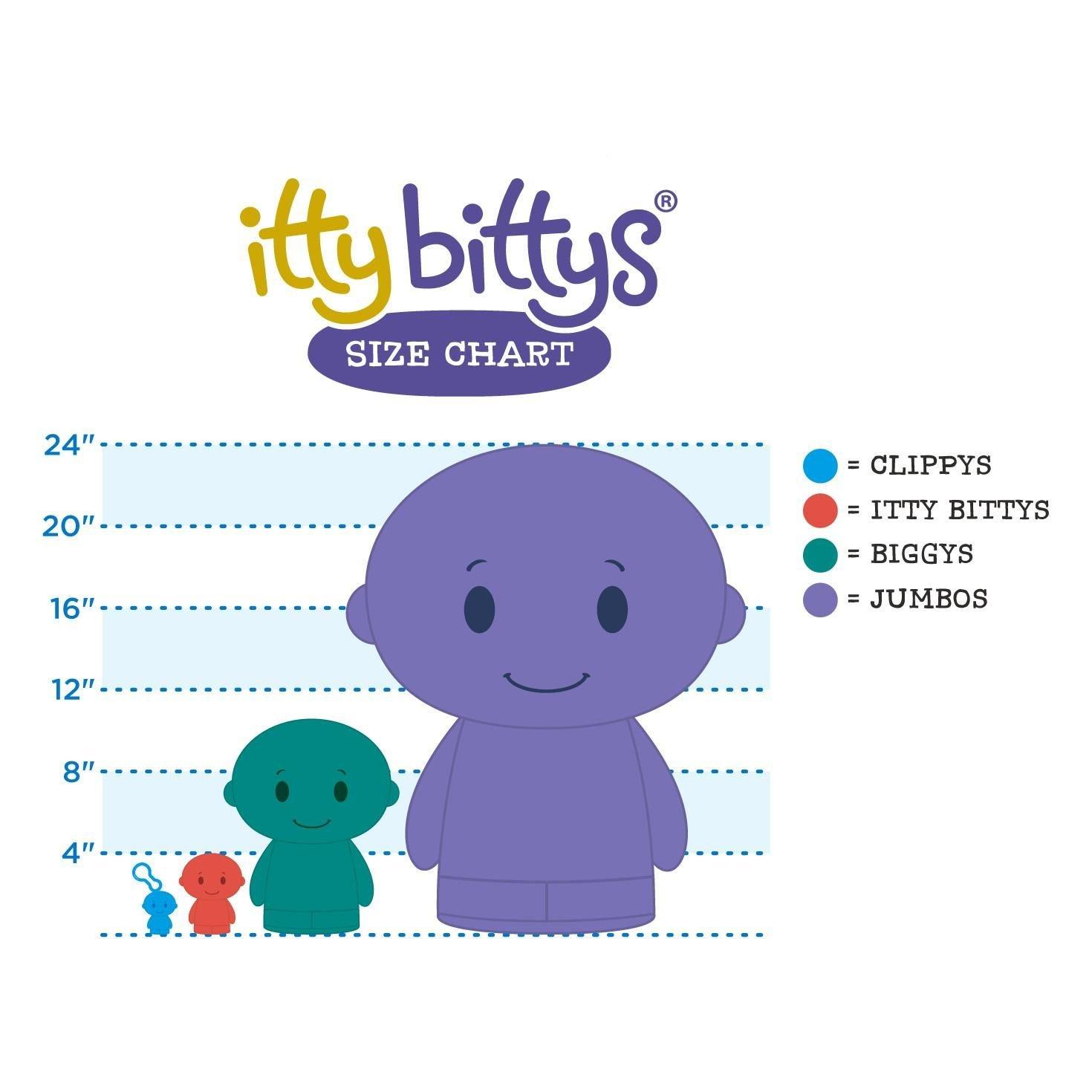 itty bittys CHEWBACCA Stuffed Animal Itty Bittys Back to School Sci-Fi Hallmark KID3294