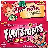 Flintstones Plus Iron Childrens Multivitamin Chewable Tablets - 60 Count