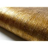 Peel & Stick Lime Gold Pearl Contact Paper Self Adhesive Removable Wallpaper NI941 : 2.00 Feet X 6.56 Feet