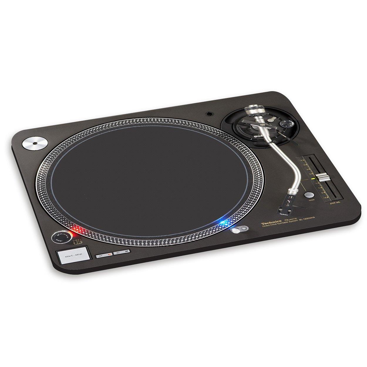 Tocadiscos 1 pc alfombrilla de ratón cojín de Vinilo - música mezclador de DJ cubiertas Gift Base®