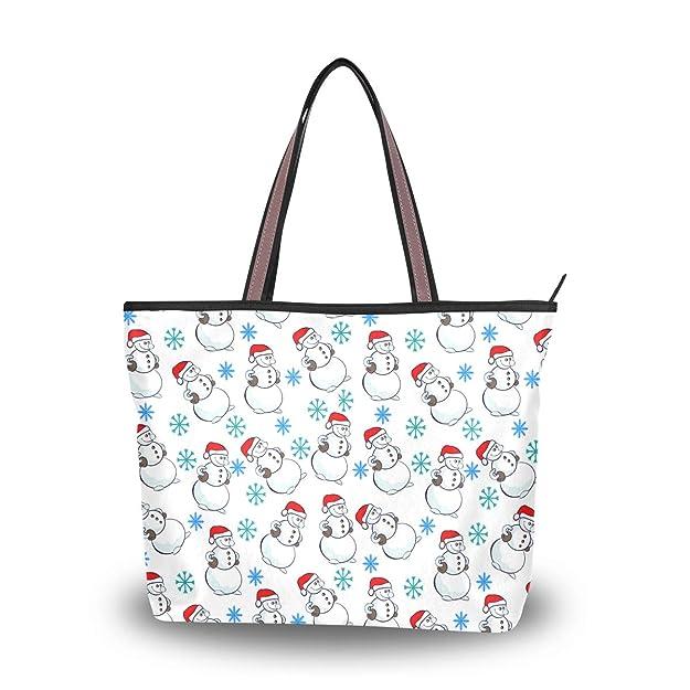 Amazon.com: First Christmas Snowman - Bolso para mujer ...