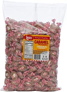 product image for Goetze's Candy Vanilla Caramel Creams - 5 Pound Bag (80 Ounces) - Fresh from the Factory