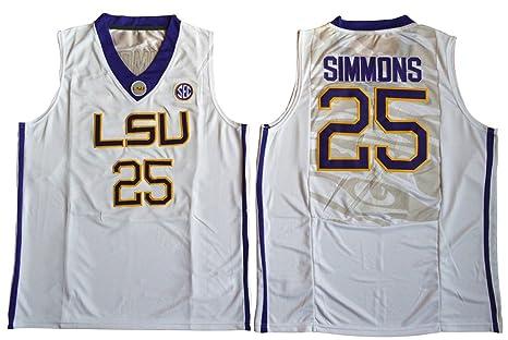 weenks Hombres de Ben Simmons 25 LSU tigres College de baloncesto ...