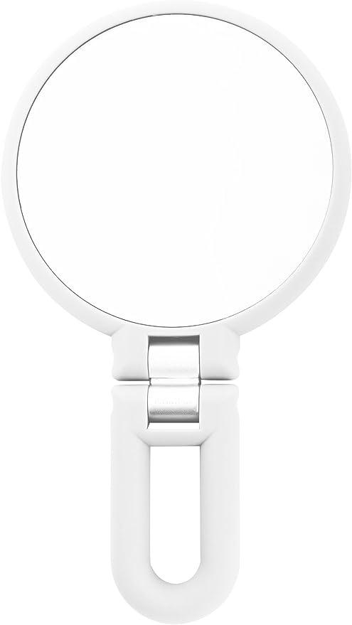 Danielle 15X Magnification Folding Makeup Mirror Clear Acrylic Danielle Creations D007