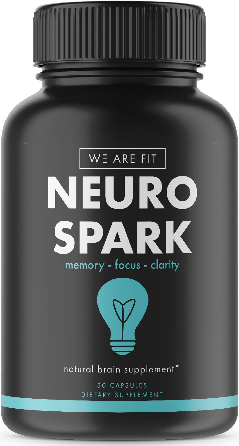 Extra Strength Natural Brain Function Support for Memory, Focus & Clarity - Mental Performance Nootropic - Brain Booster with Ginkgo Biloba, St. John's Wort, More