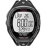 Timex Ironman Sleek 250 - Reloj deportivo para hombres, correa de resina, color negro