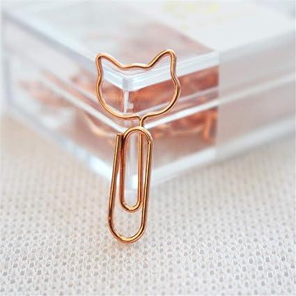 Burofin Clips para gatos Clips de papel lindos Clipper, 30 ...