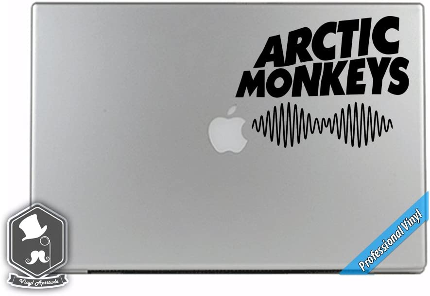 Arctic Monkeys Inspired AM Album CD Music Band Art Vinyl Decal Sticker for Apple MacBook Dell HP Alienware Asus Acer or Any Laptop Notebook PC Computer
