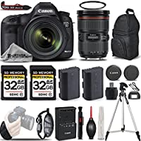 Canon EOS 5D Mark III DSLR 22.3MP Full HD 1080p + Canon 24-70mm f/2.8L II USM Lens + 2 Of 32GB Memory Card + Backup Battery. All Original Accessories Included - International Version