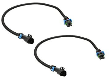 61cJdWoHnQL._SX355_ amazon com michigan motorsports ls2 ls3 ls7 oxygen o2 sensor oxygen sensor extension harness at gsmx.co