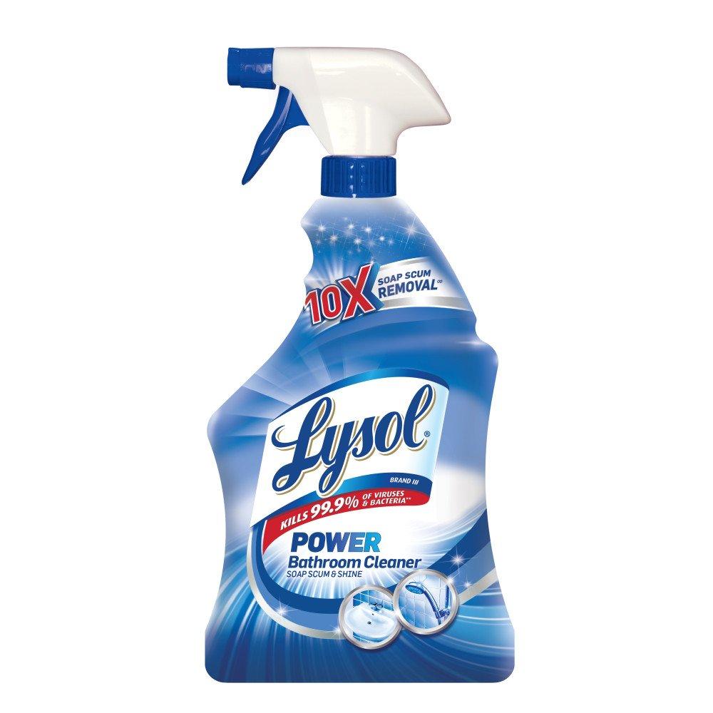 Amazon.com : Lysol Bathroom Cleaner Spray, Island Breeze, 32oz ...