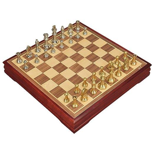 LOFAMI Juegos de Mesa Ajedrez Tablero de ajedrez Creativo Niños ...