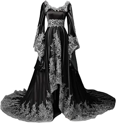 Lemai Long Sleeves Formal Evening Gowns