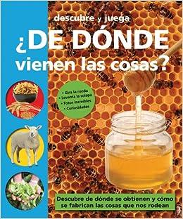 ¿De dónde vienen las cosas? (Descubre y juega) (Spanish Edition): Priddy Books: 9788479427481: Amazon.com: Books