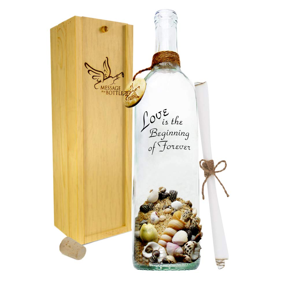Message In A Bottle ® ''PROMISE'' Personalized Gift for Him or Her by Message In A Bottle
