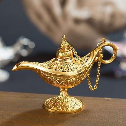 Chanhan Aladdin Lámpara de Mesa clásica para el hogar o la Oficina ...