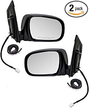 Power Heated Side View Door Mirrors Left//Right Pair Set for 04-10 Toyota Sienna