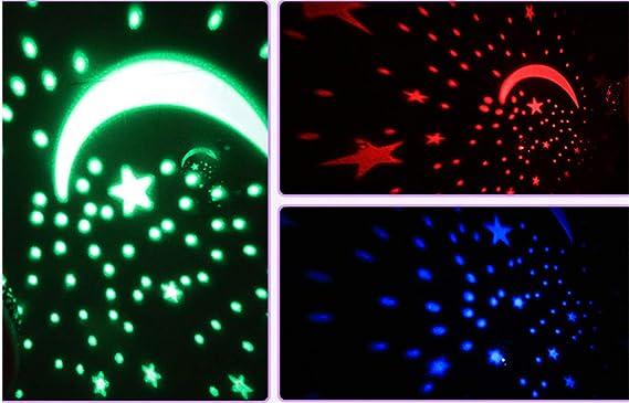 UNIQUE-F Estrellas rotativas automáticas Proyección de Estrellas ...