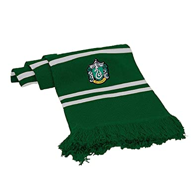 574f8a9ad6818 Harry Potter Scarf SLYTHERIN Ultra Soft - 100% Original WARNER BROS   Amazon.co.uk  Clothing