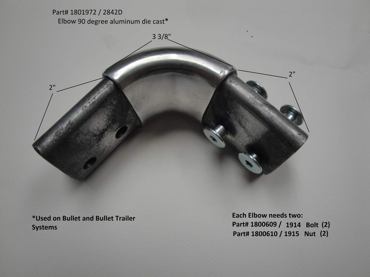 Bolt, Shoulder, 1/4-20' X 1.25