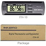 Inkbird Dc 3V Input Digital Thermometer & Humidity Meter Hygrometer High Accuracy ITH-10