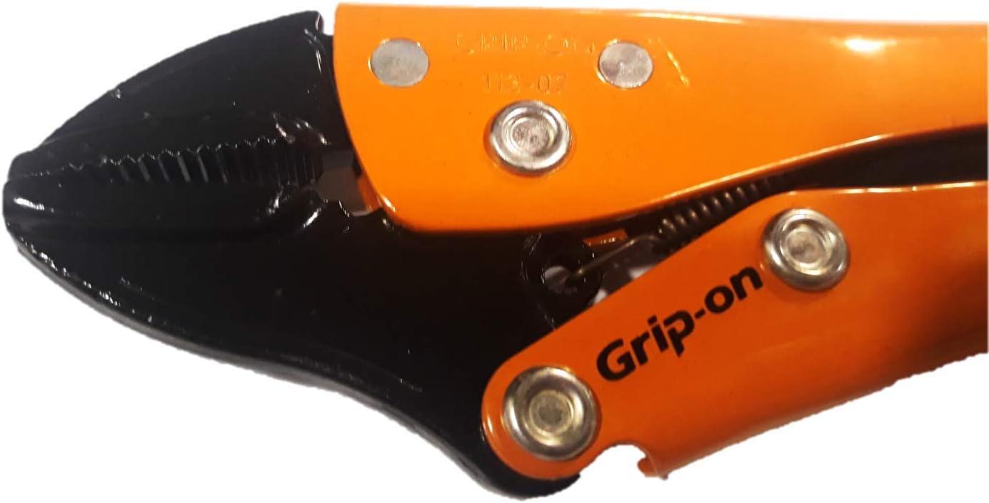 Grip-On 112-10-489 Mordaza Naranja//Negro 10