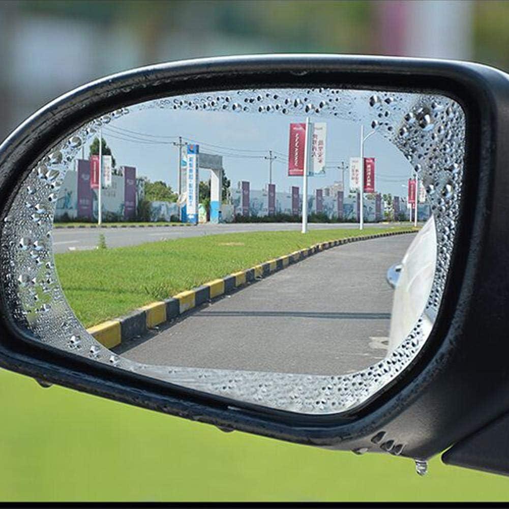Bloomma R/étroviseur de Voiture Film Anti-Pluie Anti-bu/ée Film Protecteur r/étroviseur Automobile /étanch/éit/é Film r/ésistant /à leau et Anti-Reflets avec Miroir de Protection arri/ère Auto-Protecte