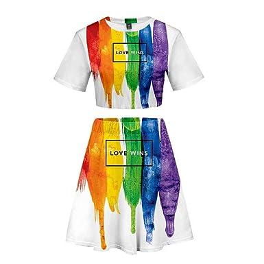 Traje de Vestir de Colores de la Bandera del Orgullo LGBT ...