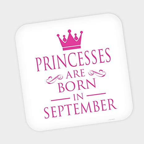 Buy LASTWAVE Coaster Princesses Are Born In September