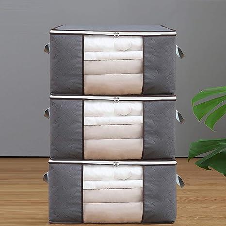 Xuping shop Paquete de 3 bolsas de almacenamiento de edredón ...