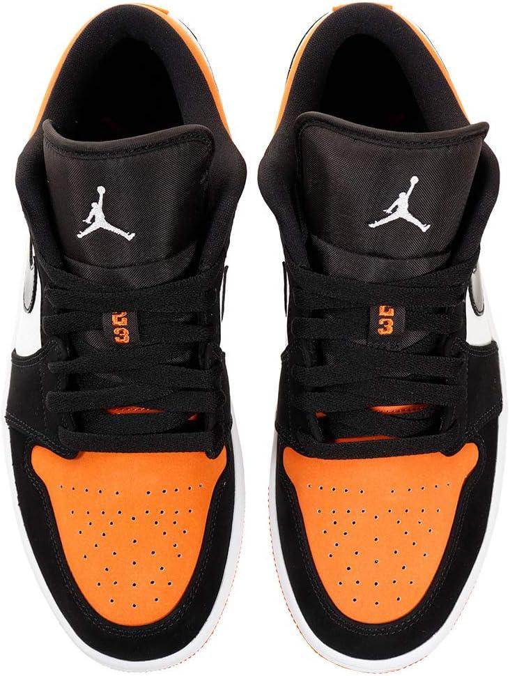 Black//White-Starfish 8.5 Jordan Air 1 Low