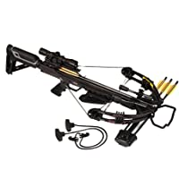 Bruin Ambush 345 Crossbow Package w/Scope, Bolts, Quiver and Cocking Rope