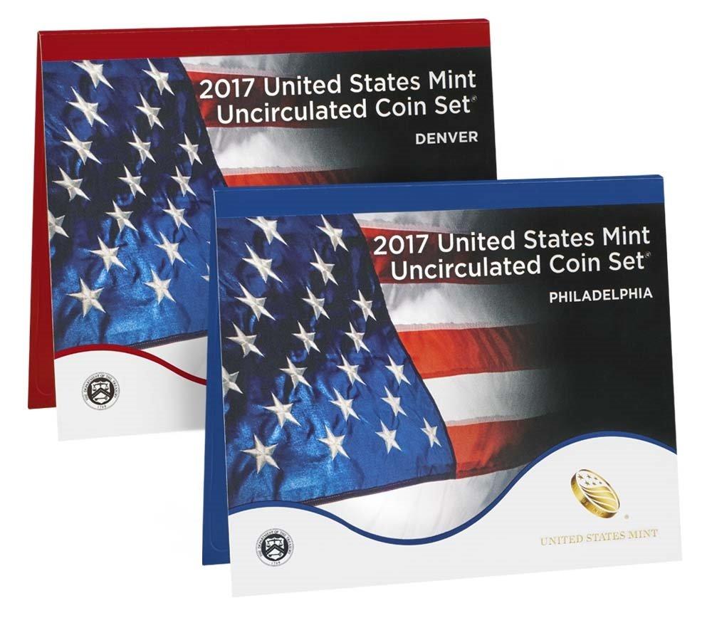 2018 P, D U.S. Mint Uncirculated 20 Coin Mint Set with CoA Uncirculated