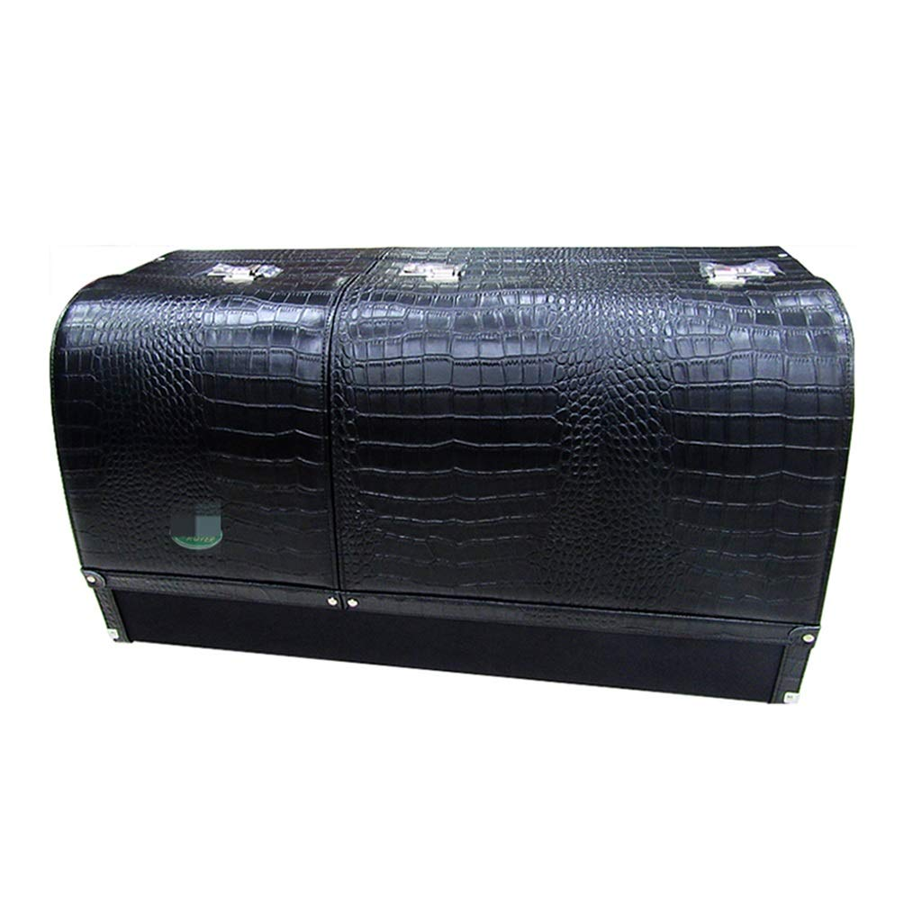 Car Storage Box Car Organiser Car Backup Storage Box Password Out of The Box Suitable for All Types of Vehicles (Color : Black, Size : 8031.535cm)